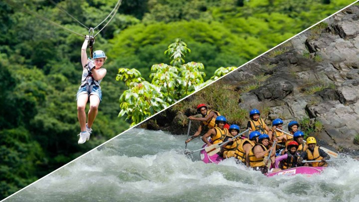 Rafting With Zip Line