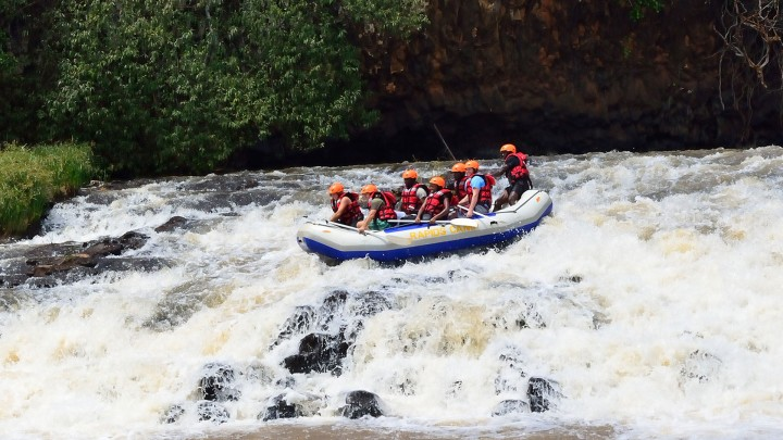 White Water Rafting…
