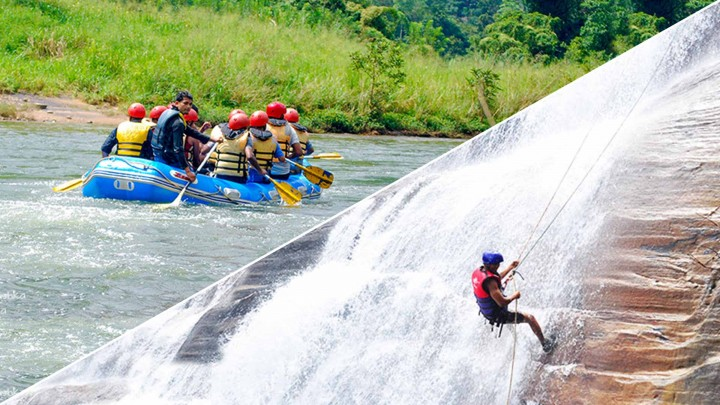 Rafting With Waterfall…